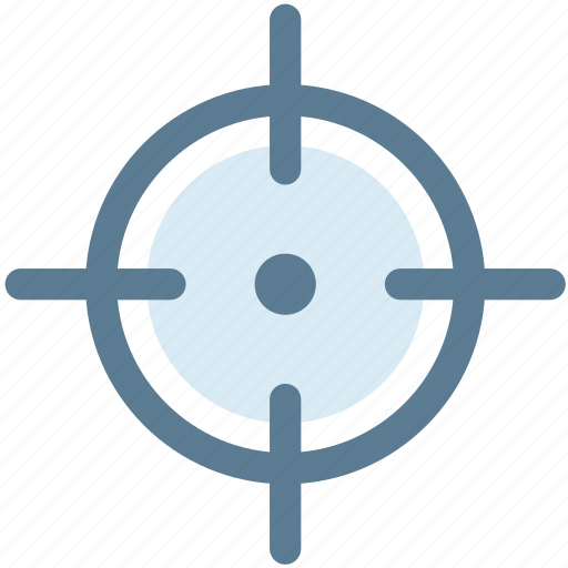 crosshair, direction, location, locator, navigation, position icon