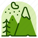alps, holiday, location, mountain, vacation icon