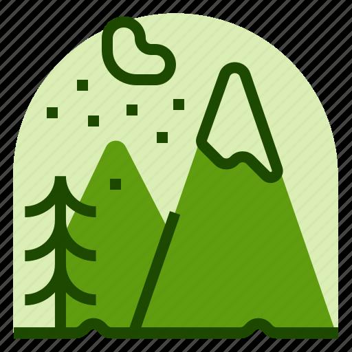 alps, holiday, location, mountain, vacation icon