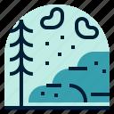holiday, location, mountain, snow, vacation