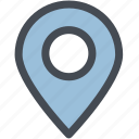 location, locator, map, map pin, marker, pin icon