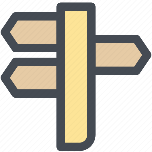 location, one way, road sign, sign post, street sign, travel, vacation icon