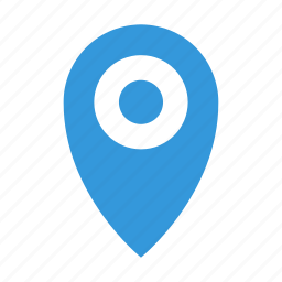 distance, location, marker, place, point icon