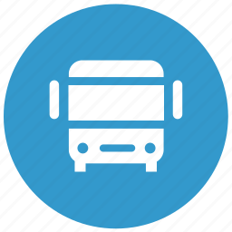 bus station, direction, location, map, navigation icon