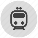 direction, map, navigation, subway, train icon