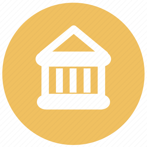 bank, direction, govement, location, map, navigation icon