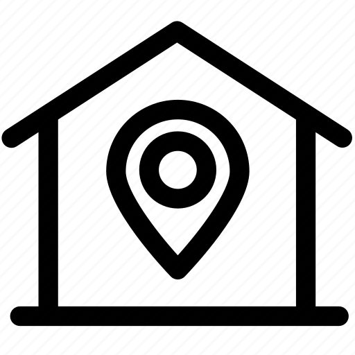general, home, home position, house, location, position icon