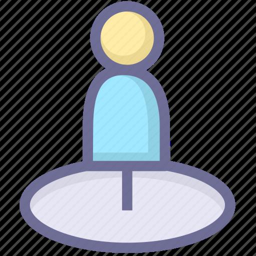 location, navigation, position, zone icon