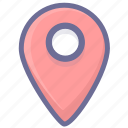 location, navigation, position icon