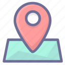 location, map, position icon