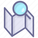 location, map, position, search position icon