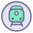 location, position, train station icon