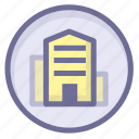 apartment, home, location icon