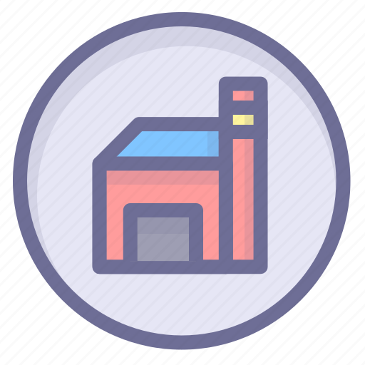 factory, location, position icon