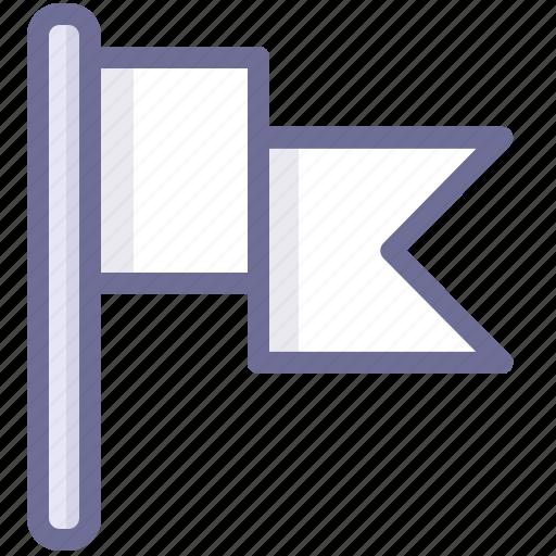 flag, location, position icon