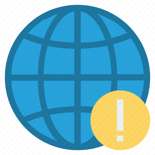 country, earth, globe, location, map, warning sign, world icon