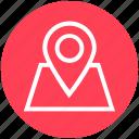 gps, location, location pin, map pin, marker, navigation, pin