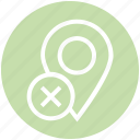 cross, gps, location, location pin, map pin, navigation, pin