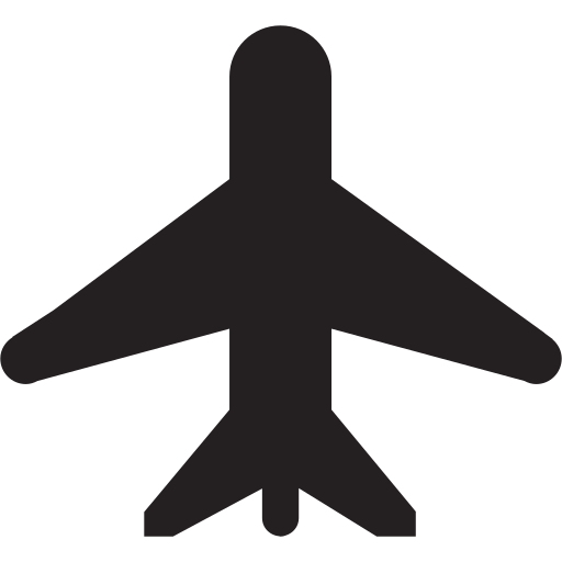 plane, ticket, transportation, vacation icon