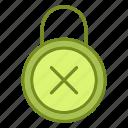 lock, padlock, protection, refuse icon