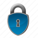 lock, padlock, protection, safety icon