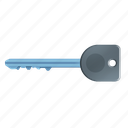 key, long, protection, safety icon