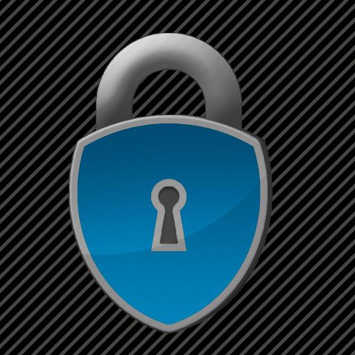 lock, padlock, protection, safety icon