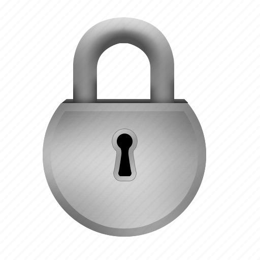 lock, padlock, protection, safety, steel icon