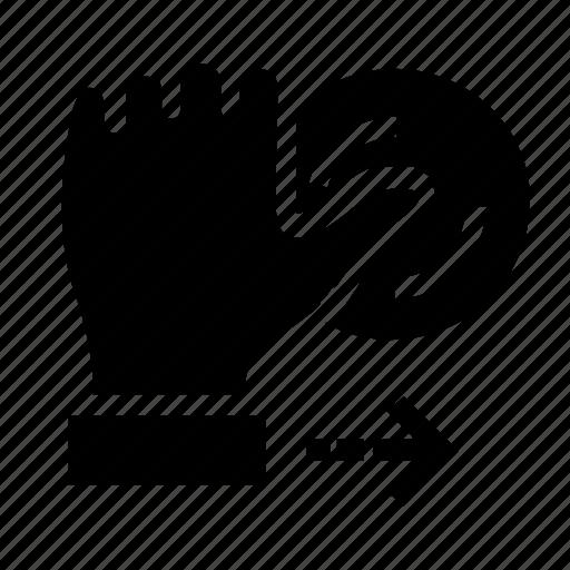 fingerprint, logout, sign out icon