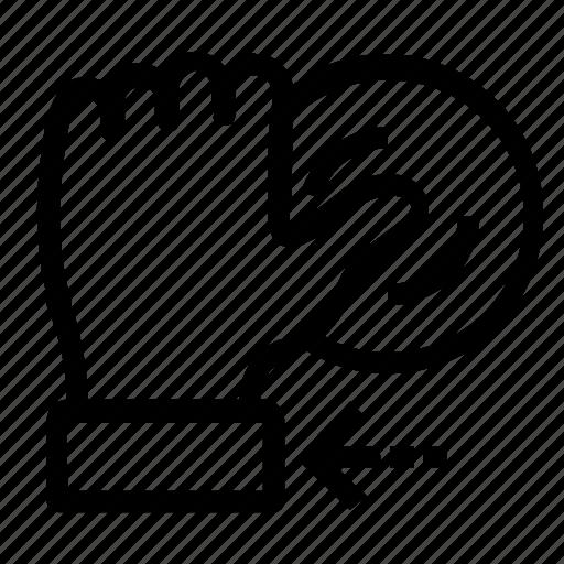 fingerprint, in, log icon