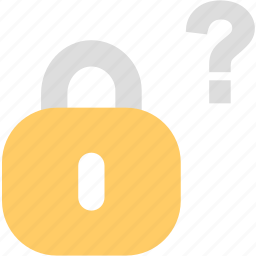 encryption, forgot, lock, password, protection, security icon