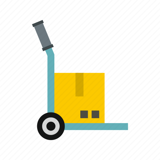cargo, cart, package, packaging, parcel, transport, truck icon