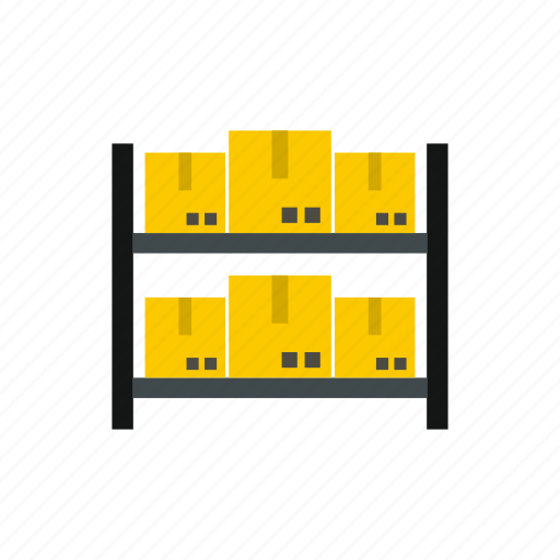 box, cardboard, delivery, goods, package, storage, transportation icon