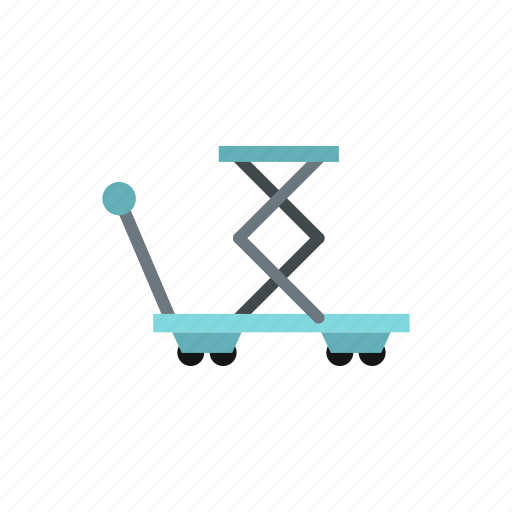 equipment, industrial, industry, lifting, spring, truck, vehicle icon