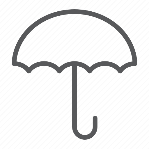 dry, keep, label, packaging, product, umbrella icon