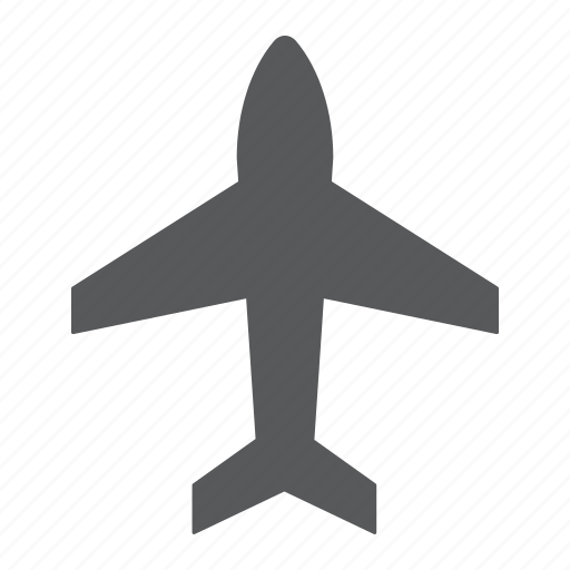 aircraft, airplane, fly, jet, plane, sign, transport icon
