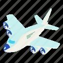 dm3, illustration, isometric, logo, object, plane, vector