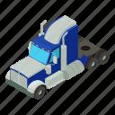 body, dm3, illustration, isometric, logo, truck, vector