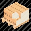 dm3, illustration, isometric, logo, object, package, vector