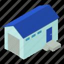 dm3, illustration, isometric, logo, object, vector, warehouse