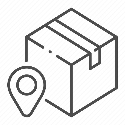 business, cargo, delivery, location, logistic, package, service icon
