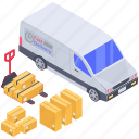 cargo, delivery van, logistic delivery, shipment, shipping truck