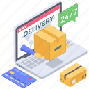 logistic delivery, online delivery, online order booking, order confirm, parcel booking icon