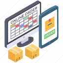 delivery request, online booking, online order booking, order confirm, parcel booking icon