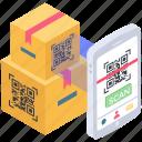 barcode, matrix barcode, qr code, qr code reader, qr code scanning, upc barcode icon