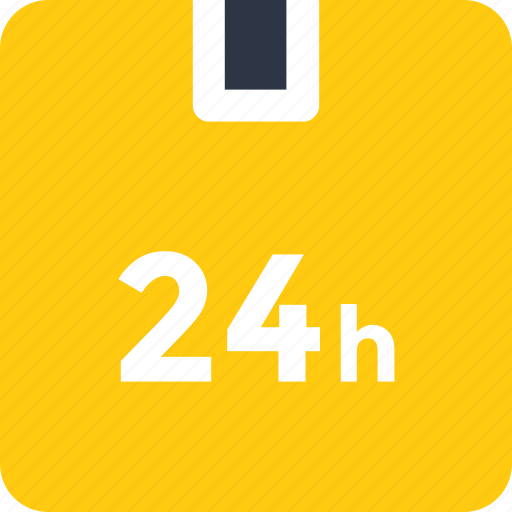 delivery in 24 hours, express delivery, fast delivery, rapid logistics, timely delivery icon icon