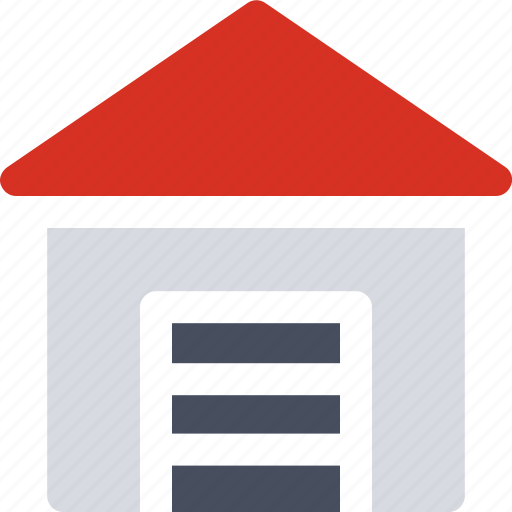 building, logistics, real estate, storage, unit, warehouse icon icon