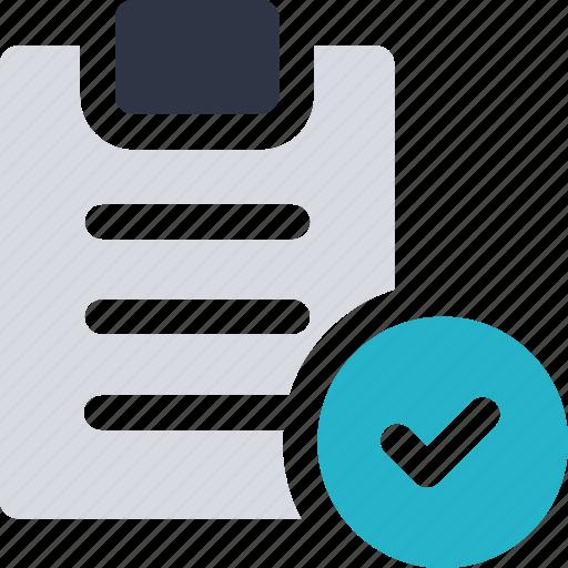 cargo, check mark, checklist, clipboard icon, delivery icon