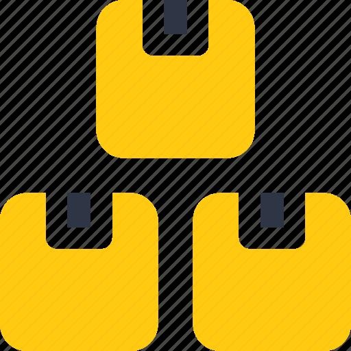 box, boxes, modules, shipping, storage, storehouse icon icon