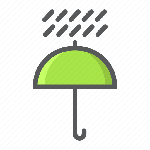 away, delivery, from, keep, meteorology, umbrella, water icon
